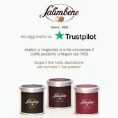 Da oggi siamo su Trustpilot!  Aiutaci a migliorare e a far conoscere il caffè prodotto a Napoli dal 1933, lascia il tuo parere o la tua recensione sulla nostra pagina:  https://it.trustpilot.com/review/salimbene.store