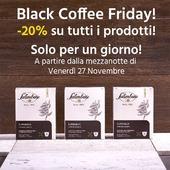 Black Coffee Friday! -20% su tutti i prodotti del catalogo, SOLO PER UN GIORNO! A partire dalla mezzanotte di Venerdì 27 Novembre!  #salimbene #blackfriday #blackfriday2020 #blackcoffee #blackcoffeefriday #blackcoffeefriday☕️ #coffee #caffesalimbene #caffenapoletano #napoli #caffetime #caffeteria #coffeelover #coffeelovers #coffeeholic