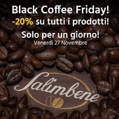 Affrettati, il #blackcoffeefriday è solo oggi.  -20% su tutti i prodotti!   #blackfriday #blackfriday2020 #blackfridaysale #caffe #coffee #coffeelovers #italincoffee #caffenapoletano #caffenapoli #napoli